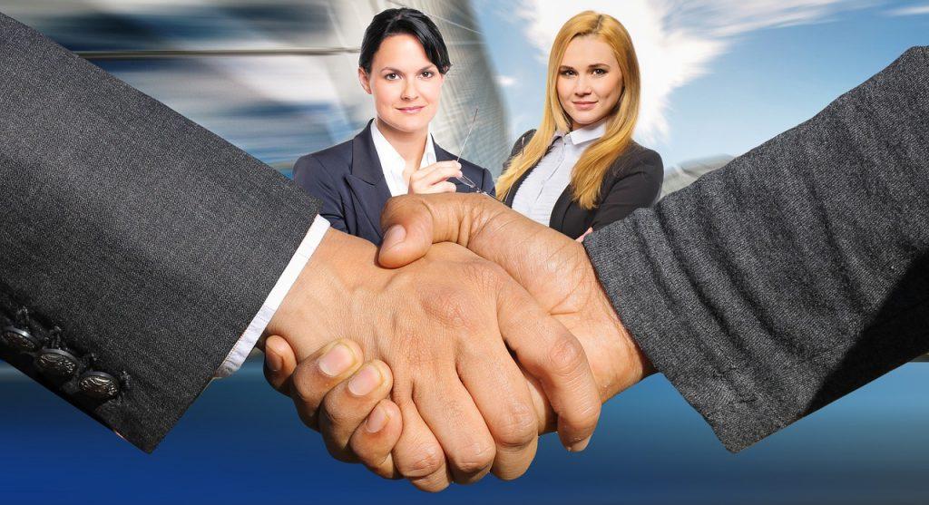 לחיצת יד משא ומתן